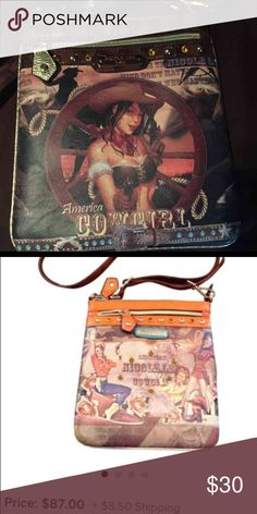 Nicole Lee Cross Body Bag Nicole Lee Cross Body Bag. This bag is one of Nicole Lees' most popular bags, because of Teresa the cowgirl, she is so adorable as she poses in front of the wagon wheel. Nicole Lee Bags Crossbody Bags
