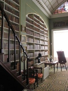 Library detail, Stourhead