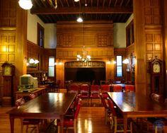 The beautiful Converse Memorial Library