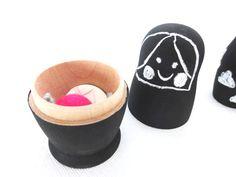 Matroschka, Spielzeug Kids http://de.dawanda.com/shop/ideenpurzelbaeume
