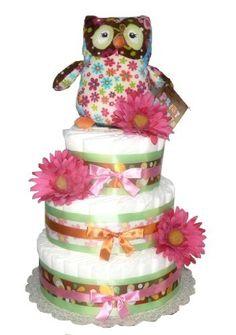Night Owl- Print Pizzazz - Baby Shower Diaper Cake (3 Tier) by Rubber Ducky, http://www.amazon.com/gp/product/B005VTXNKE/ref=cm_sw_r_pi_alp_QFfRpb1X74DM8