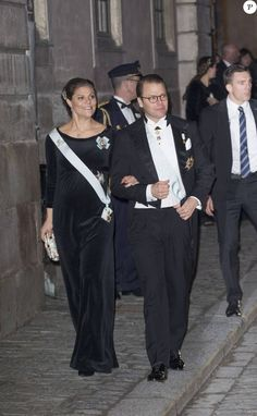 The Swedish Royal Family attended the Swedish Academy's formal gathering at the Stock Exchange in Stockholm, Sweden on December 20, 2015.