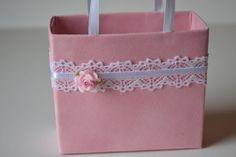 Sweet pink gift bag Pink Velvet by steppnout on Etsy, $4.50