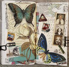 Artist Journal, Art Journal Pages, Journal Sample, Junk Journal, Bullet Journal, Art Journal Inspiration, Art Inspo, A Level Art Sketchbook, Glue Book