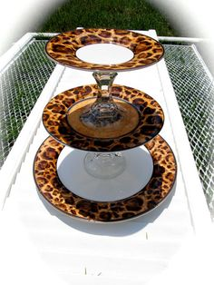 Your place to buy and sell all things handmade Animal Print Decor, Animal Print Fashion, Animal Prints, Leopard Print Party, Cheetah Print, Hanging Beds, Hanging Shelves, Cupcake Tier, Picnic