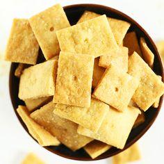 Vegan Cheez Its   Minimalist Baker Recipes