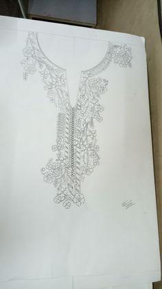 Neck sketch design