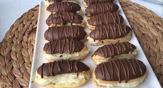 Pastane Usulü Ekler Tarifi, Kaç Tane Yediğinizi Sayamayacaksınız Profiteroles Recipe, Pavlova, Dessert Recipes, Desserts, Tiramisu, Waffles, Recipies, Cheesecake, Canning