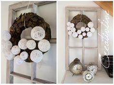 creativLIVE: DIY Cottonball-Kranz