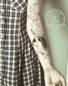 #fox #foxtattoo #epureatelier #marieroura #finelines #tattoo #tattooartist