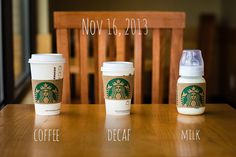 Starbucks Coffee Pregnancy Announcement