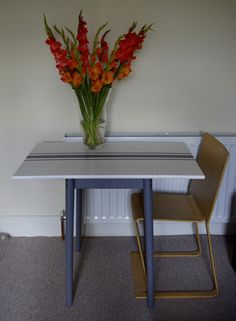 After photo - Drop leaf table