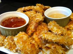 Heavenly Baked Coconut Chicken - Made this for dinner tonight! Turned out great!! :)
