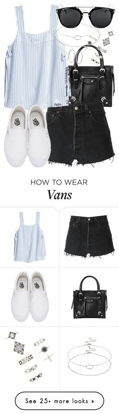 """""""spain"""" by bekahtee on Polyvore featuring Forever 21, RE/DONE, Vans, Accessorize and Tressa"""