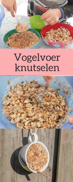 DIY vogelvoer in een kopje als cadeautje - Mama Maai, Easy Mother's Day Crafts, Cup Crafts, Diy Crafts To Do, Winter Crafts For Kids, Mothers Day Crafts, Diy For Kids, Diy Tumblr, Bird Food, Diy Presents