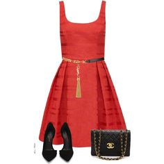 """""""Skater Dress"""" by sonies-world on Polyvore"""
