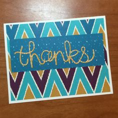 stampcandy.net, Stampin' Up!, Bohemian DSP, thanks card, Hello You Thinlits Die, Crystal Effects
