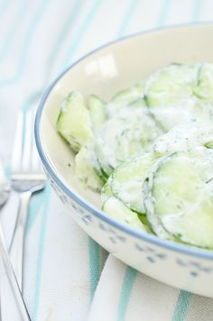 Frisse Komkommer Salade7