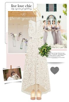 """""""Modern Spring Wedding"""" by pippi-loves-music ❤ liked on Polyvore featuring Alice + Olivia, Christian Louboutin, Blue Nile, Miu Miu and modern"""