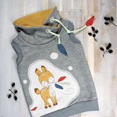 Applikationsvorlage HERBST'REHLEIN von RITTERKIND » Zum Applizieren auf Baby- und Kinderkleidung » PDF eBook » Nähanleitung