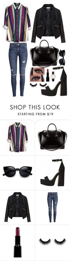 """""""#823"""" by infinito01 ❤ liked on Polyvore featuring Givenchy, Zizzi, H&M, Giorgio Armani and Daniel Wellington"""