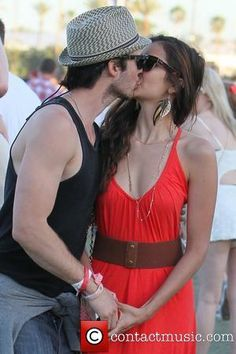 Coachella 2012, Ian Somerholder, Ian And Nina, The Vampire Diaries 3, Perfect Couple, Sex And Love, Cute Celebrities, Together Forever, Delena
