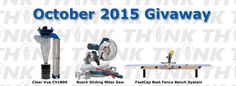 Think Woodworks October 2015 $6000 Giveaway