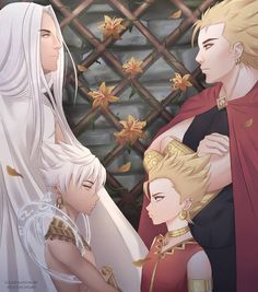 They remind me Naruto and Sasuke and their Dad remind me Madara and Hashirama UwU but in different story. Bang Bang, Couple Poses Drawing, Couple Posing, Madara And Hashirama, Male Fairy, Moba Legends, Legend Games, Blue Lantern, The Legend Of Heroes