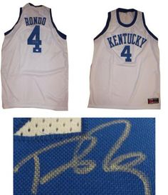578d97e02 Rajon Rondo Signed Jersey - JSA  SportsMemorabilia  KentuckyWildcats