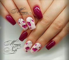 Beauty Nails, Hair Beauty, Happy Nails, Gorgeous Nails, Spring Nails, Cute Nails, Nail Art Designs, Acrylic Nails, Nailart