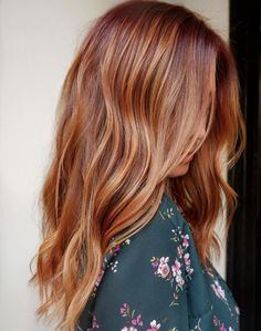 27 Summer Hair Colors You're Going to Want to Copy ASAP - 27 Summer Hair Colors You're Going To Want To Copy ASAP Das schönste Bild für quick hairstyle , - Hair Color Ideas For Brunettes Balayage, Red Hair With Balayage, Copper Balayage Brunette, Red Hair With Lowlights, Curly Hair Styles, Natural Hair Styles, Natural Red Hair, Cinnamon Hair, Brown Blonde Hair