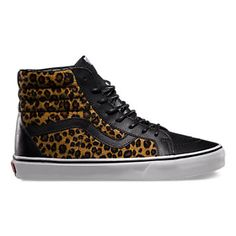 b0f5863974 Vans Leopard Leather SK8-Hi Reissue Sk8 Hi Vans