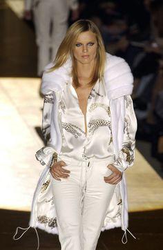 Roberto Cavalli at Milan Fashion Week Fall 2002 - StyleBistro