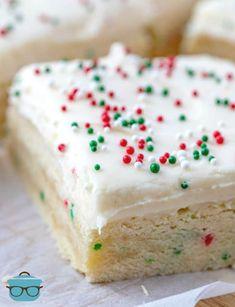 Christmas Sugar Cookies, Christmas Snacks, Christmas Baking, Christmas Goodies, Christmas Recipes, Holiday Recipes, Holiday Baking, Christmas Candy, Homemade Christmas