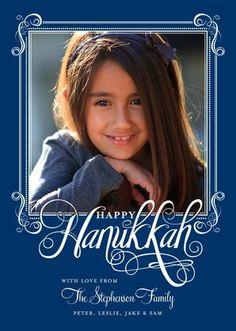 Celebrate #Hanukkah with this midnight blue Sarah Hawkins Design
