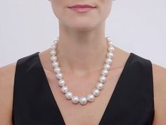Mikimoto South Sea Pearl Necklace in 18K #505163