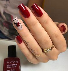 Maroon Nail Polish, Maroon Nails, Stylish Nails, Trendy Nails, Maroon Nail Designs, Gold Glitter Nails, Ballerina Nails, Oval Nails, Manicure E Pedicure