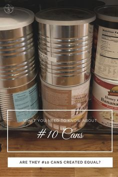 What you need to know about #10 cans and freeze dried food storage. Dehyrated food and #10 cans. Shelf stable food storage best prices. Long term food storage plans and what you need to know. Long Term Food Storage, Freeze Drying Food, Banana Recipes, Need To Know, Shelf, Frozen, Nutrition, Canning, How To Plan