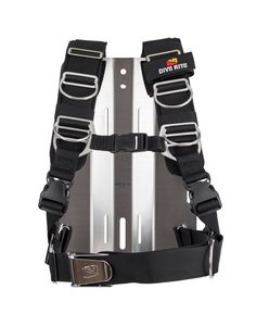 A hybrid harness designed for divers who want the support of a backpack-style harness for better weight-load distribution, yet wish to dive a hard metal backplate. Designed like a mountaineer's backpack, the TransPlate harness disperses weight across the hips and back, minimizing shoulder strain. When used with a 6-pound steel backplate, divers can remove or minimize weight pockets. Adjustable straps Continue Reading