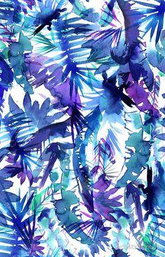 Vibe of the Jungle Blueby SchatziBrown