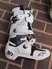 Alpinestar Tech 10 White Boots - Great Shape - Size 10 / Motocross Boots