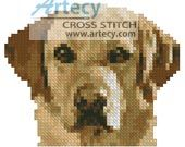 Tiny Golden Labrador Cross Stitch Pattern http://www.artecyshop.com/index.php?main_page=product_info&cPath=1_9&products_id=534