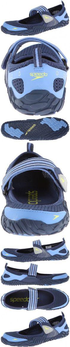 Speedo Women's Offshore Strap Amphibious Water Shoe,Insignia Blue/Provence,9 M US