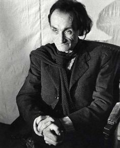 Antonin Artaud  French playwright, poet, actor and theatre director  (4 September 1896 – 4 March 1948)