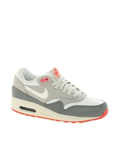 Nike Air Max 1 Essential Grey Trainers