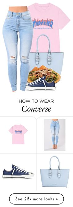 """""""Untitled #316"""" by liveitup-167 on Polyvore featuring WithChic, Armani Jeans and Converse"""