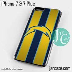 san diago chargers Phone case for iPhone 7 and 7 Plus