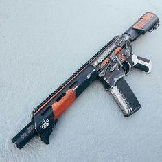 tacticalbadass:   #cerakoteslayer @blowndeadline... - knives, guns, and tactical gear