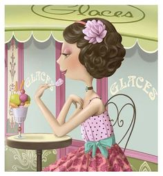 Illustrations of Nina de San