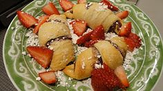 Oh, The Places We'll Go: Nutella Crescent Rolls
